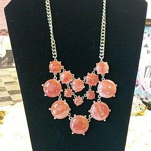 Jewelry - Burnt orange bib necklace